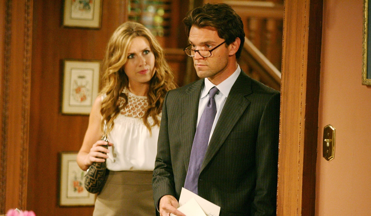 Heather and Adam on Young and Restless