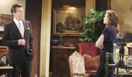 Phyllis tries to blackmail Jack on Young and Restless
