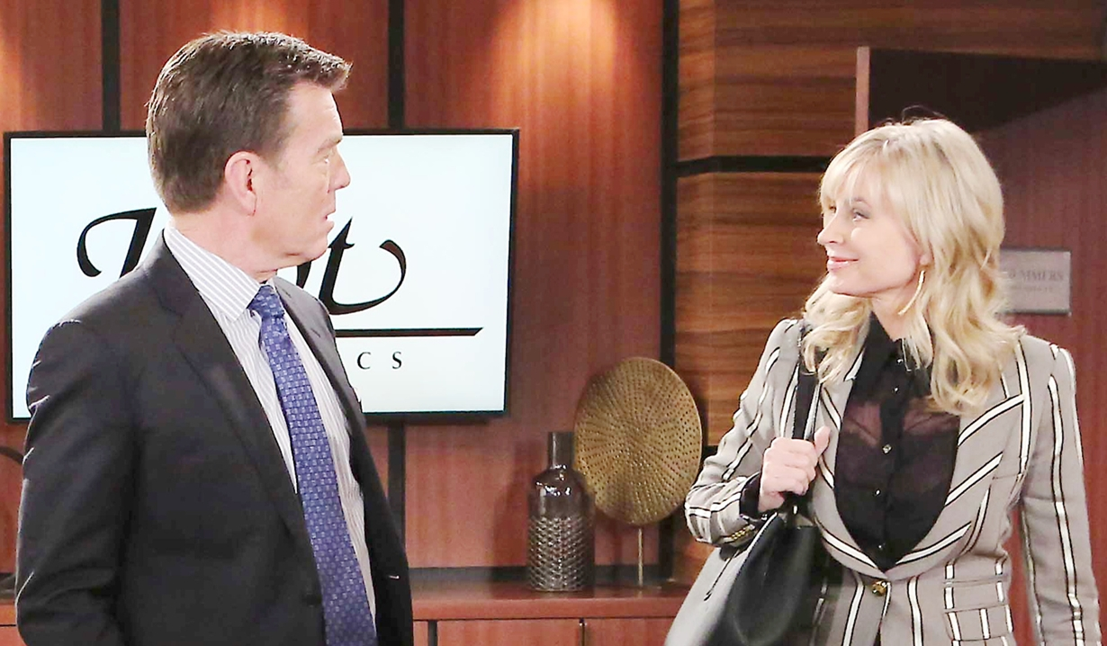 Jack and Ashley pit companies on Young and Restless