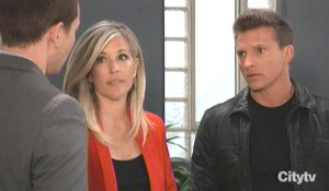 Jason fills in Michael and Carly General Hospital