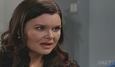Katie reacts to Bill's proposal on Bold and Beautiful