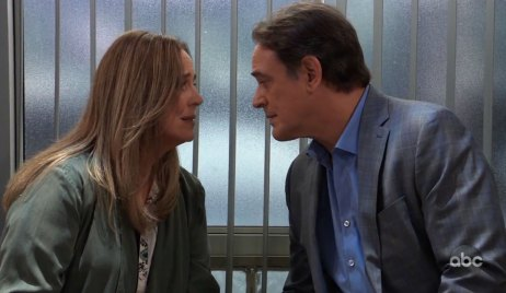 Laura and Kevin reunite on General Hospital