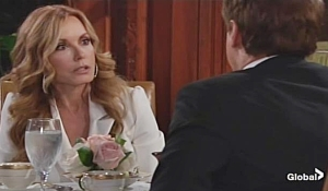 Lauren rants to Michael on Young and Restless