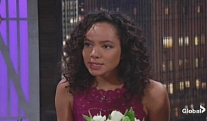 Mattie yells at Cane on Young and Restless
