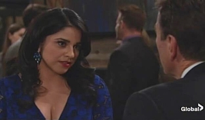 Mia flirts with Jack on Young and Restless