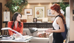 Quinn and Sally disagree on Bold and Beautiful