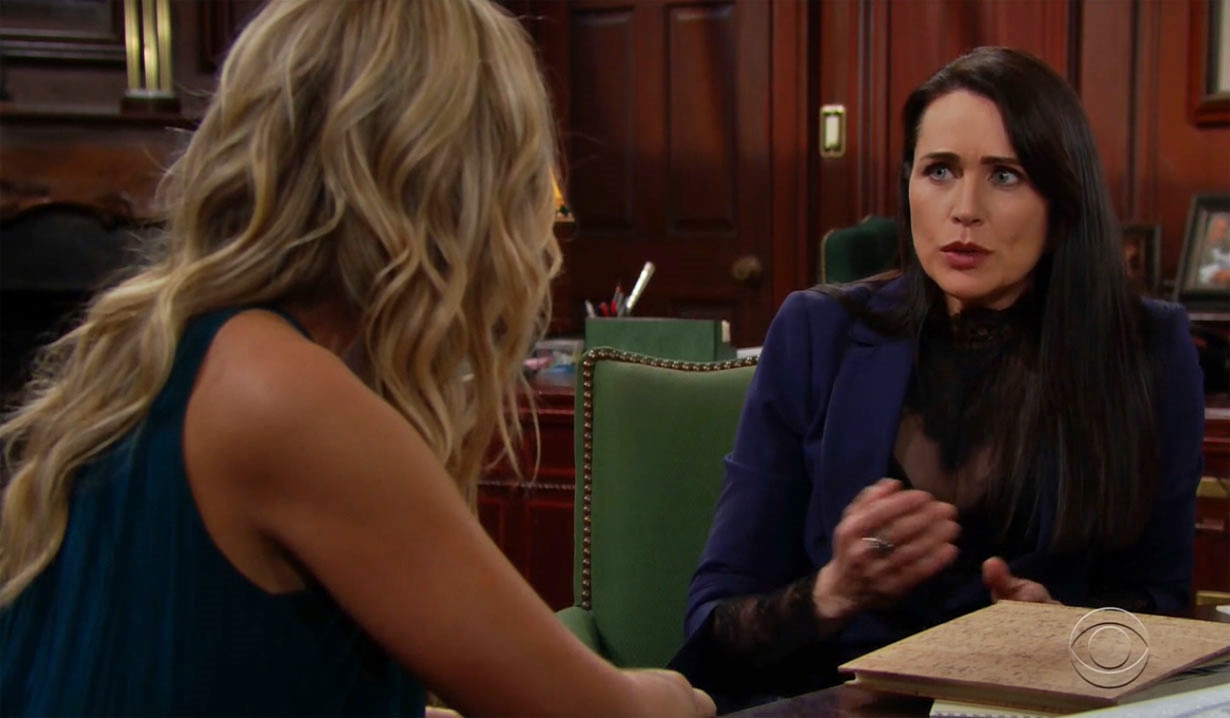 Quinn talks about Bill on Bold and Beautiful