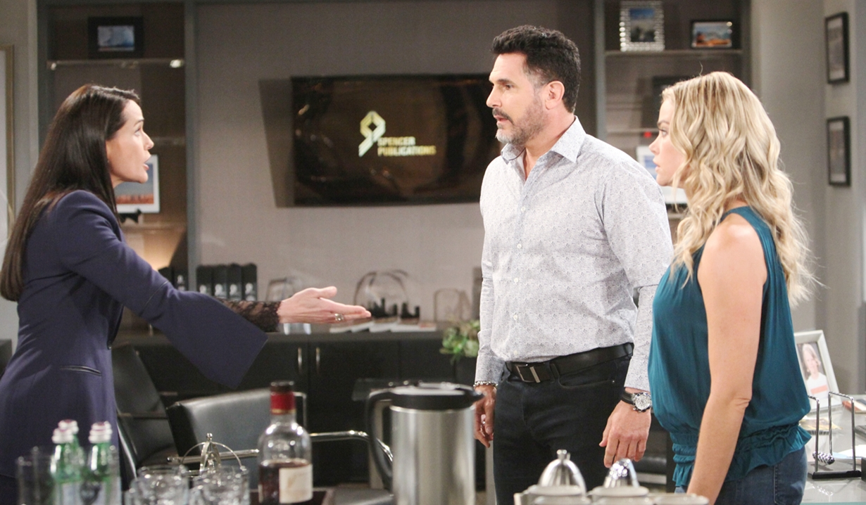 Quinn wants a DNA test on Bold and Beautiful