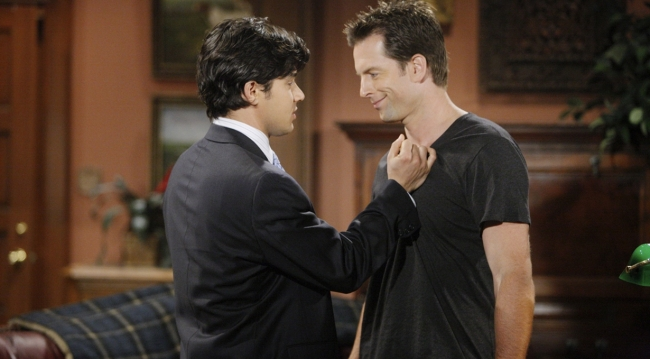 Rafe and Adam on Young and Restless