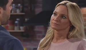 Rey Sharon confrontation on Young and Restless