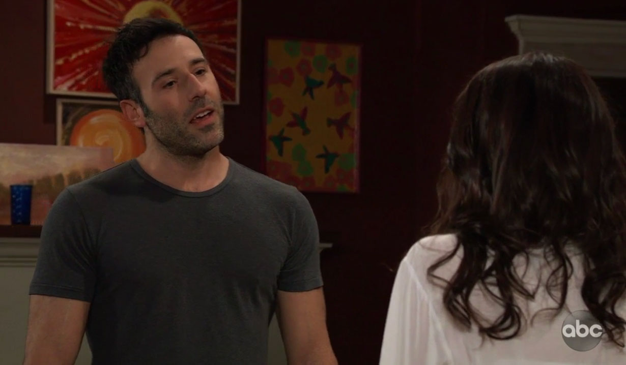Shiloh instructs Sam on General Hospital