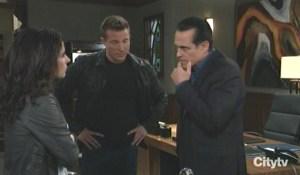 Sam fills in Sonny and Jason General Hospital