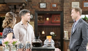 Eric learns Rex and Sarah are engaged on Days of our Lives