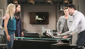 Shauna Quinn Wyatt and Bill react to results on Bold and Beautiful
