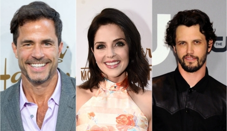 Shawn Christian, Jen Lilley, Nathan Parsons in hallmark summer movies