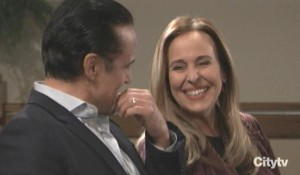 Sonny and Laura discuss their past general hospital
