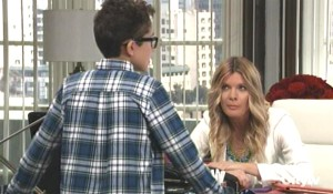 Spencer tells Nina to get Valentin to back off General Hospital
