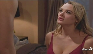 Summer looks at Kyle on Young and Restless