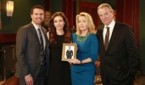 Josh Morrow Amelia Heinle Melody Scott Eric Braeden Young and Restless Tribute