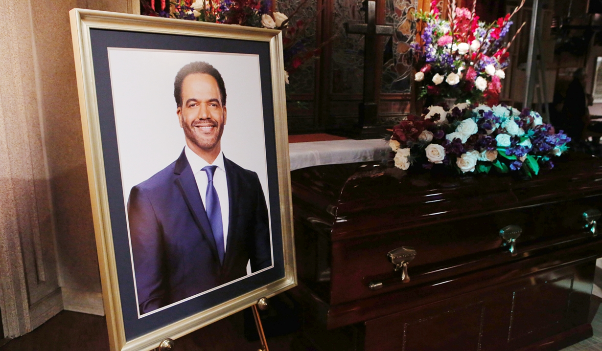 Kristoff St. John portrait on Young and Restless