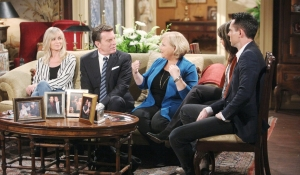 Eileen Davidson Peter Bergman Beth Maitland Jess Walton and Jason Thompson Young and Restless tribute