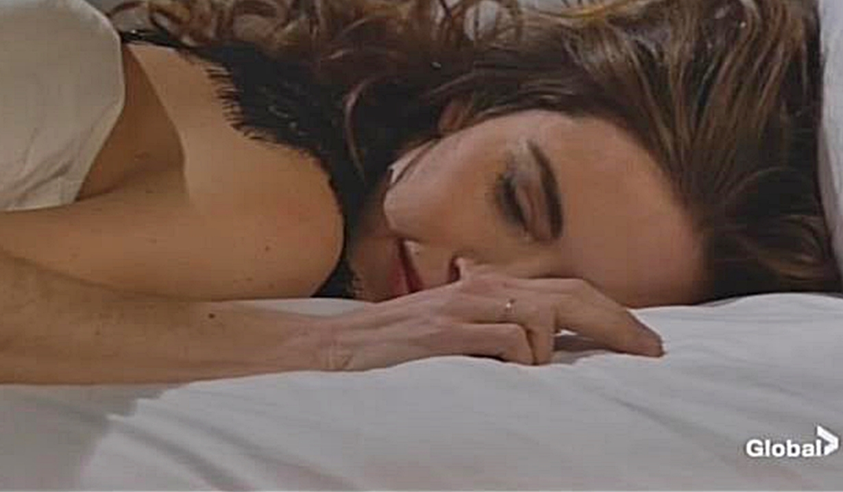 Victoria afterglow on Young and Restless
