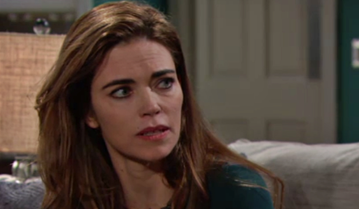 Victoria updates Nikki Young and Restless