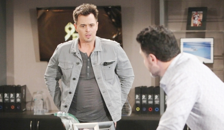 Wyatt reacts to DNA results on Bold and Beautiful