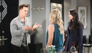 Wyatt reacts to bad news on Bold and Beautiful
