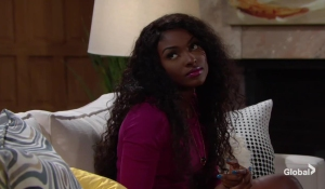 ana looks at devon young and restless