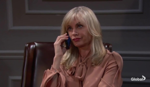 ash on a call young and restless