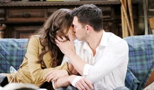 ciara ben kiss couch days of our lives