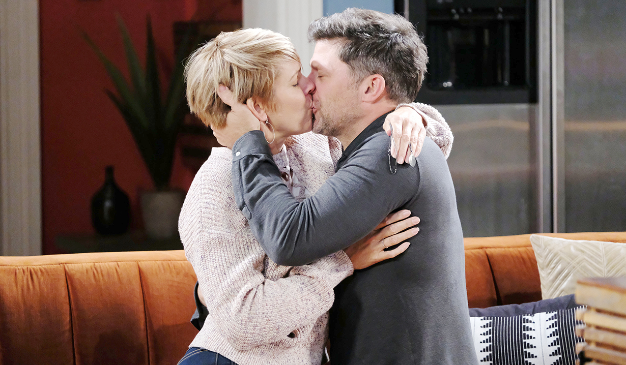ericole kissing reunion days of our lives