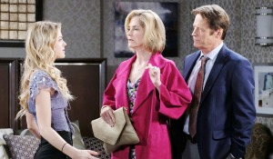 eve jack and claire scheme on days of our lives