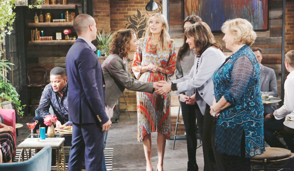 jill meets elena at society on young and restless