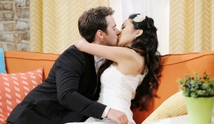 jj kissing haley loft days of our lives