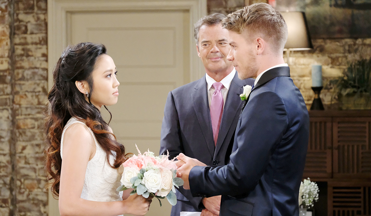 Tripp and Haley on Days of our Lives