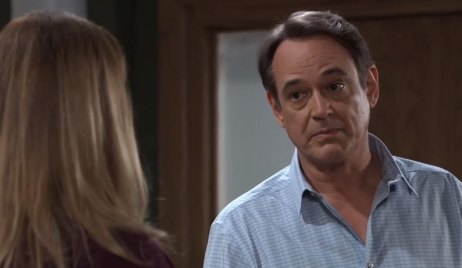 Kevin and Laura discuss fake break up on General Hospital