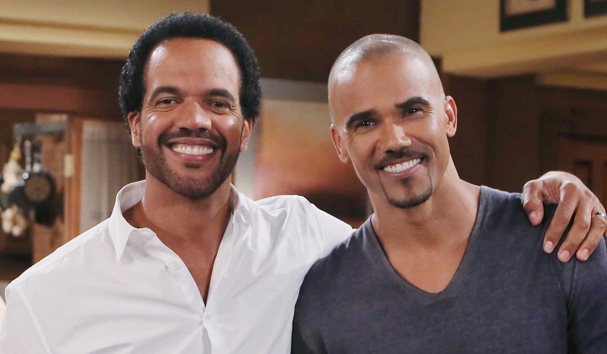 Shemar Moore pays tribute to Kristoff St. John on The Young and the Restless