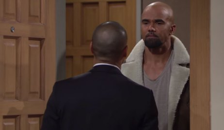malcolm returns home neil's death on young and the restless
