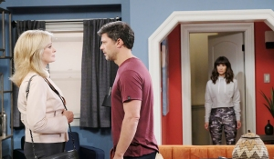 sarah watches marlena and eric home days of our lives