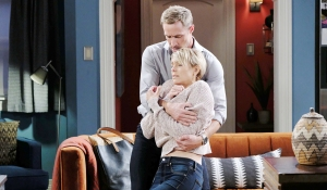 nicole passes out in rex's arms days of our lives