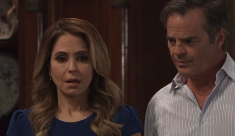 Olivia and Ned react to Oscar on General Hospital