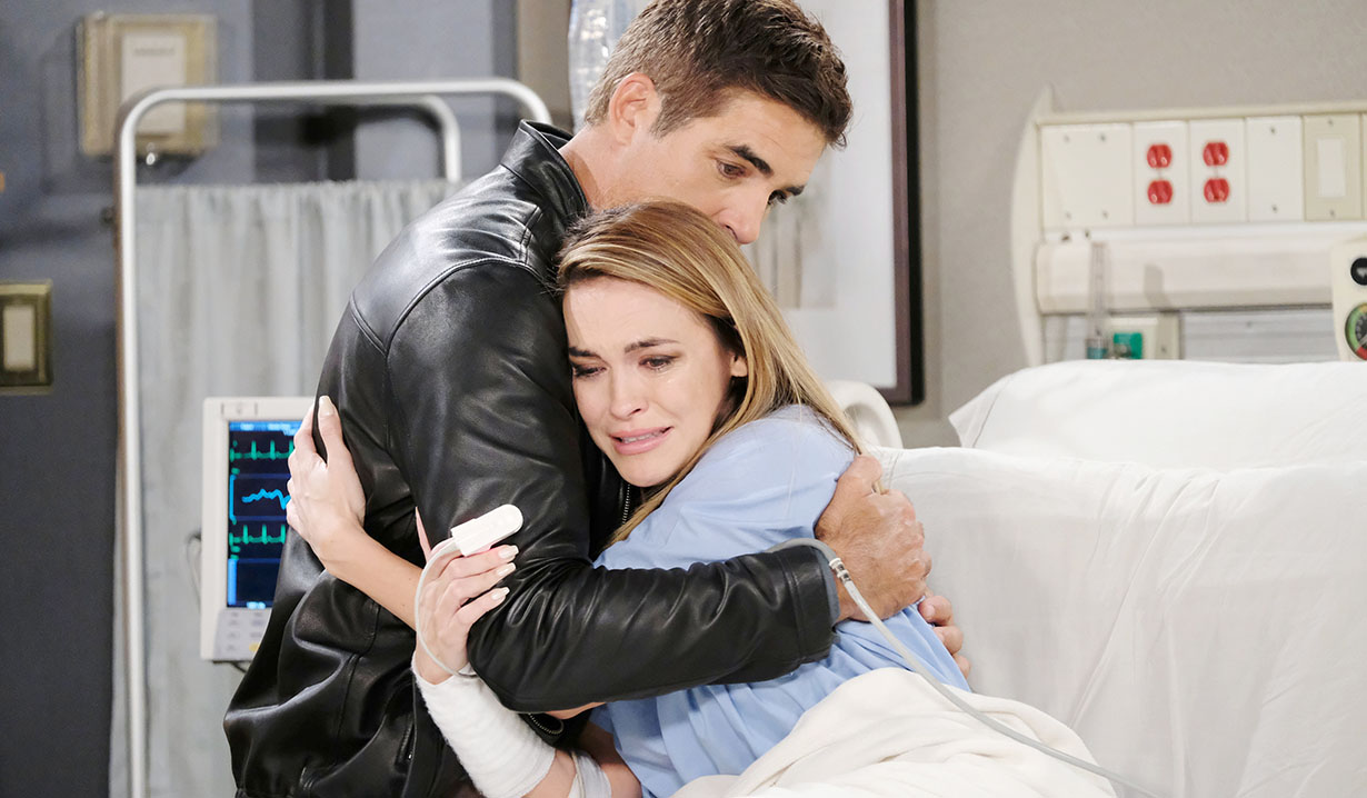 rafe consoles jordan on Days of our Lives