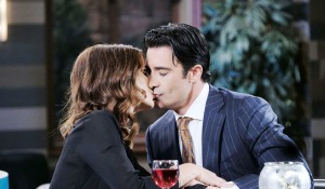 Hope and ted smooch days of our lives