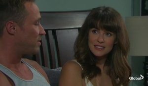 rex and sarah in bed days of our lives