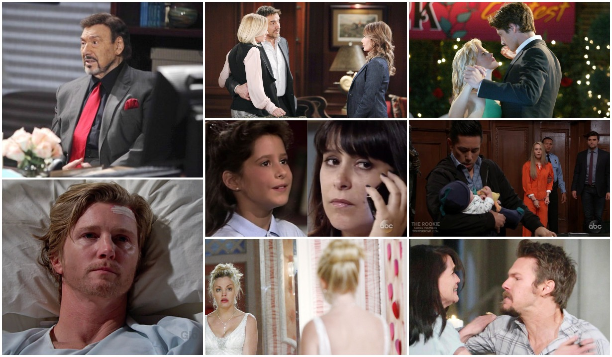 12 soap tropes on bold and beautiful days of our lives general hospital young and restless