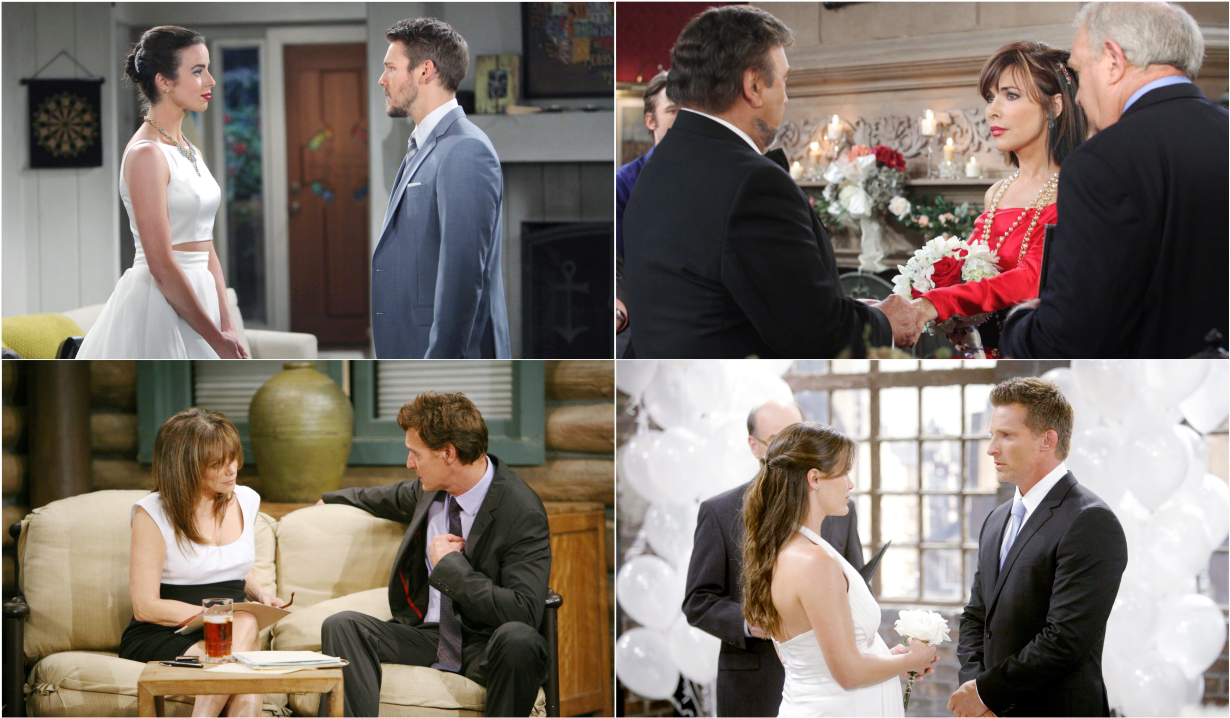 Soap operas marriages of convenience on The Bold and the Beautiful, Days of our Lives, General Hospital, The Young and the Restless