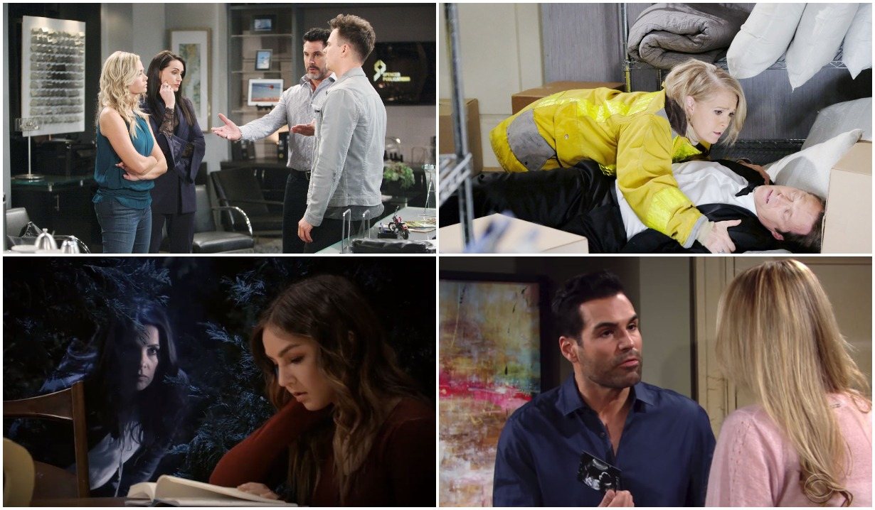 bold and beautiful days of our lives general hospital young and the restless roundup April 15