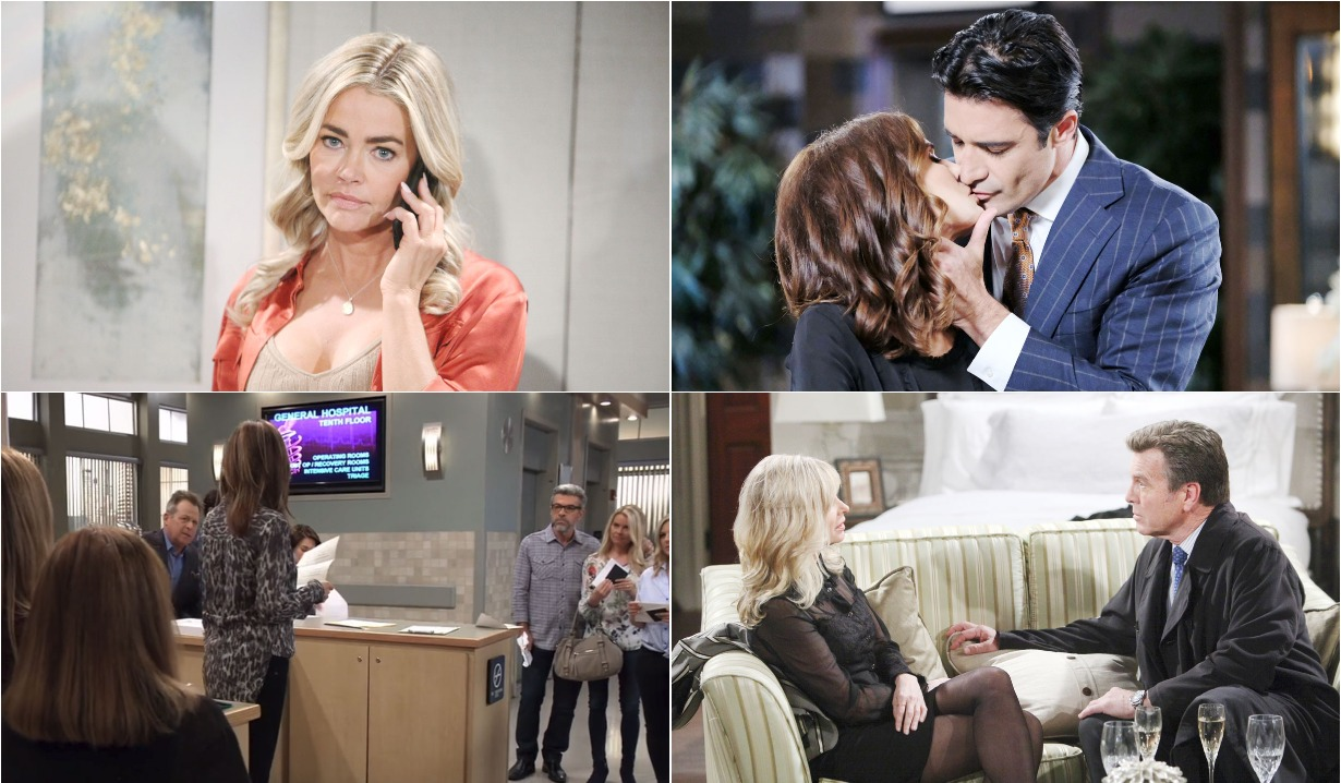 bold and beautiful days of our lives general hospital young and the restless roundup April 8